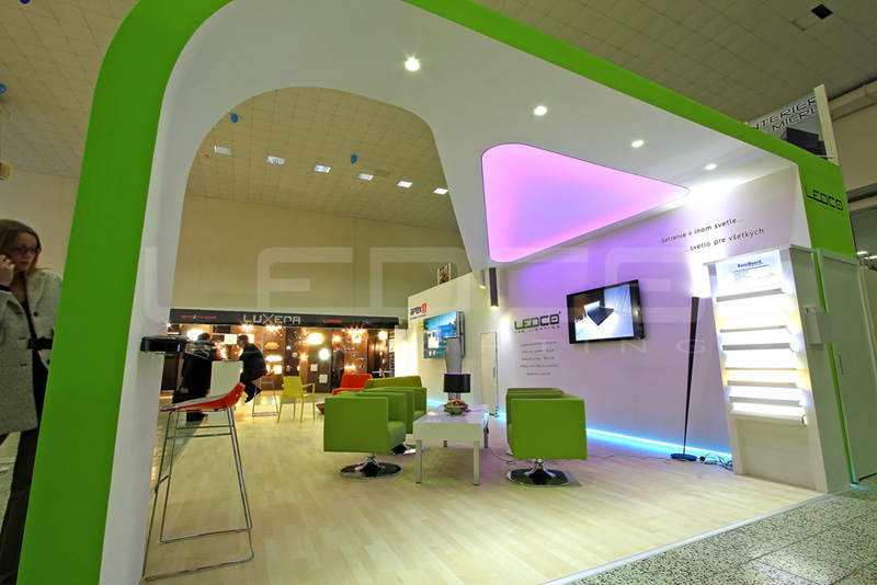 Výstava nábytok a bývanie nitra 2013 - LED osvetlenie LEDCO Trnava