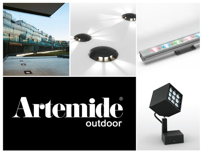 Exteriérové a verejné LED svietidlá od talianskych dizajnérov Artemide