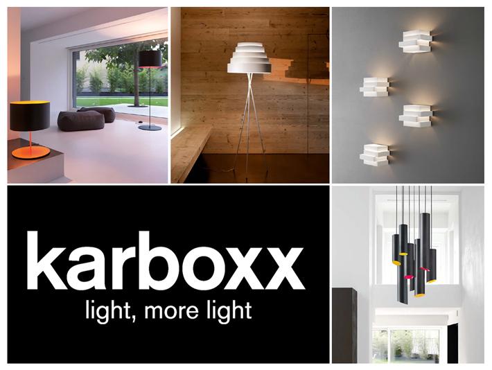 Karboxx karbónové dizajnové svietidlá od talianskeho výrobcu. Katalóg produktov.