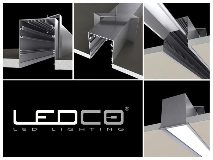 LED profily a hliníkové lišty pre výrobu svietidiel | LEDCO s.r.o.