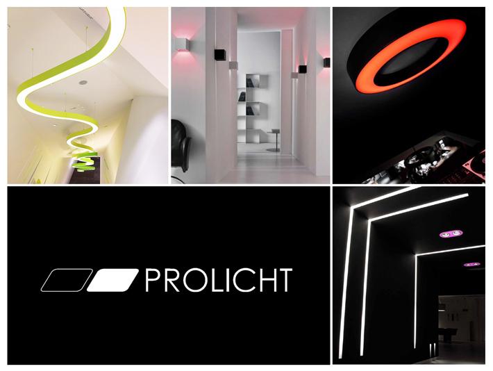 Moderné líniové svietidlá Prolicht. Minimalistický dizajn a prepracovaná konštrukcia interiérového osvetlenia.