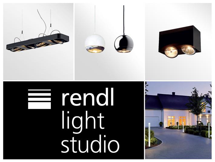 Nástenné, stolové, závesné, zápustné či exteriérové svietidlá značky RENDL.