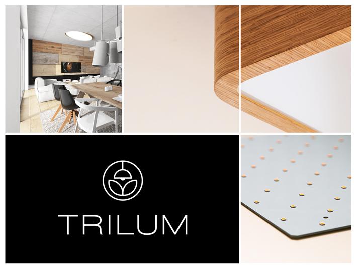 Drevené LED svietidlá TRILUM. Luxusný a funkčný dizajnový doplnok do interiéru s nádychom prírody.