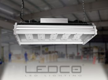 Industrial lighting with CREE LED and variable optics