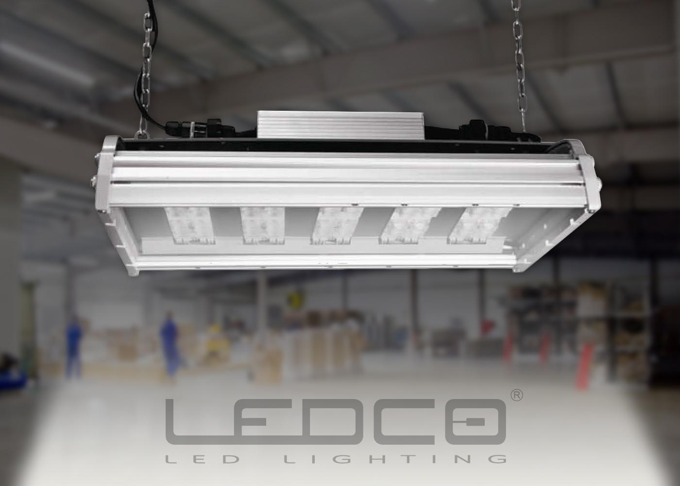 Priemyselné osvetlenie s CREE LED a variabilnou optikou