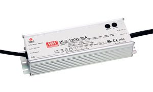 MeanWell HLG power supply for LED industrial luminaires