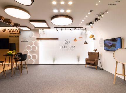 Lištové, bodové a drevené svietidlá Trilum na výstave NaB 2019 v Nitre | LEDCO
