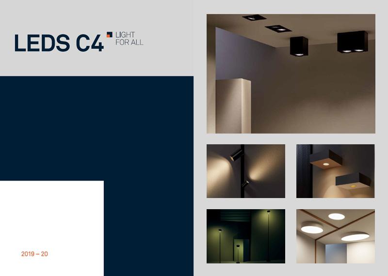 Katalóg svietidiel LEDs C4