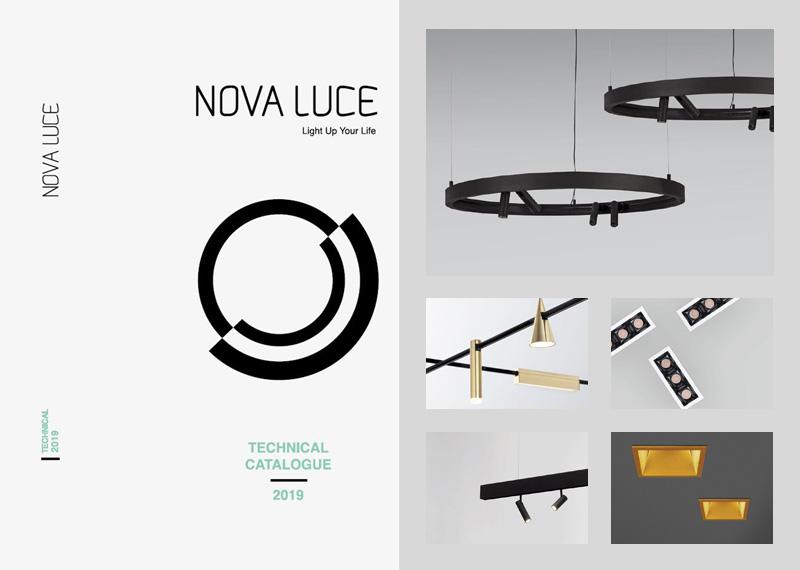 Katalóg technický svietidiel Nova Luce