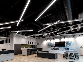 lighting of office spaces and workplaces