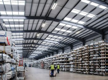 lighting of industrial and production halls, plants, warehouses and exterior