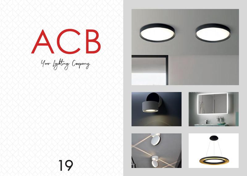 Katalóg interiérových svietidiel ACB