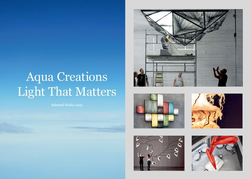 Svietidlá inšpirované prírodou AQUA CREATIONS