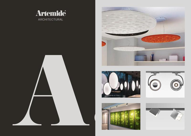 Katalóg dizajnových architektonických svietidiel Artemide