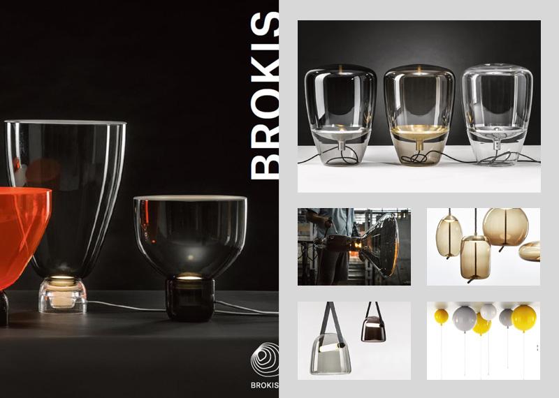 Katalóg sklenených svietidiel Brokis