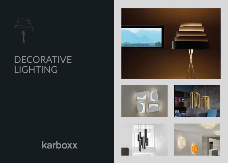 KARBOXX katalóg karbónových a textilných svietidiel