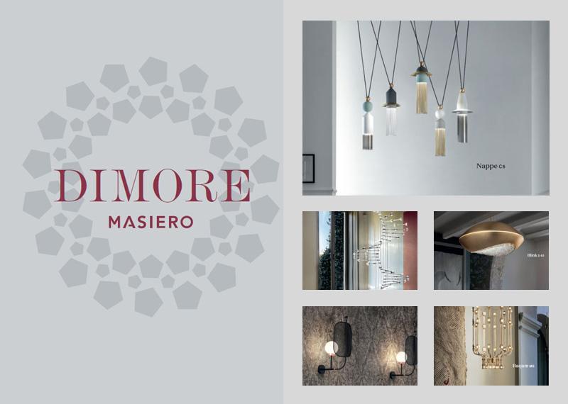 Dizajnové benátske svietidlá MASIERO