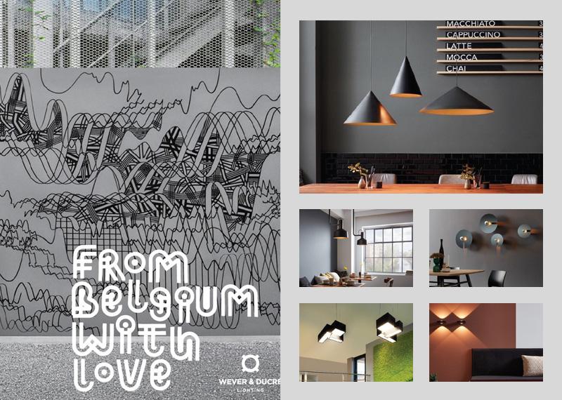 Katalog interiérových a exteriérových svietidiel Wever & Ducre