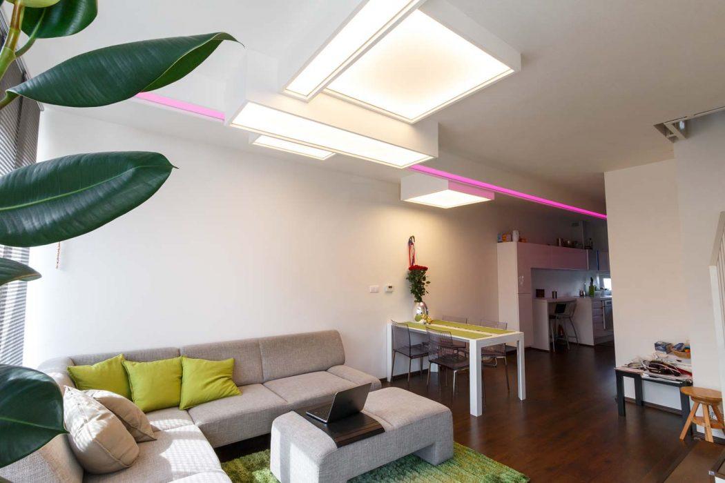 UUnikátní světelný strop, BARRISOL, světelná fólie, svítící fólie