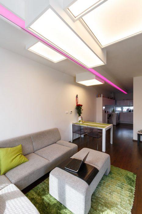 Unikátní světelný strop, BARRISOL, světelná fólie, svítící fólie