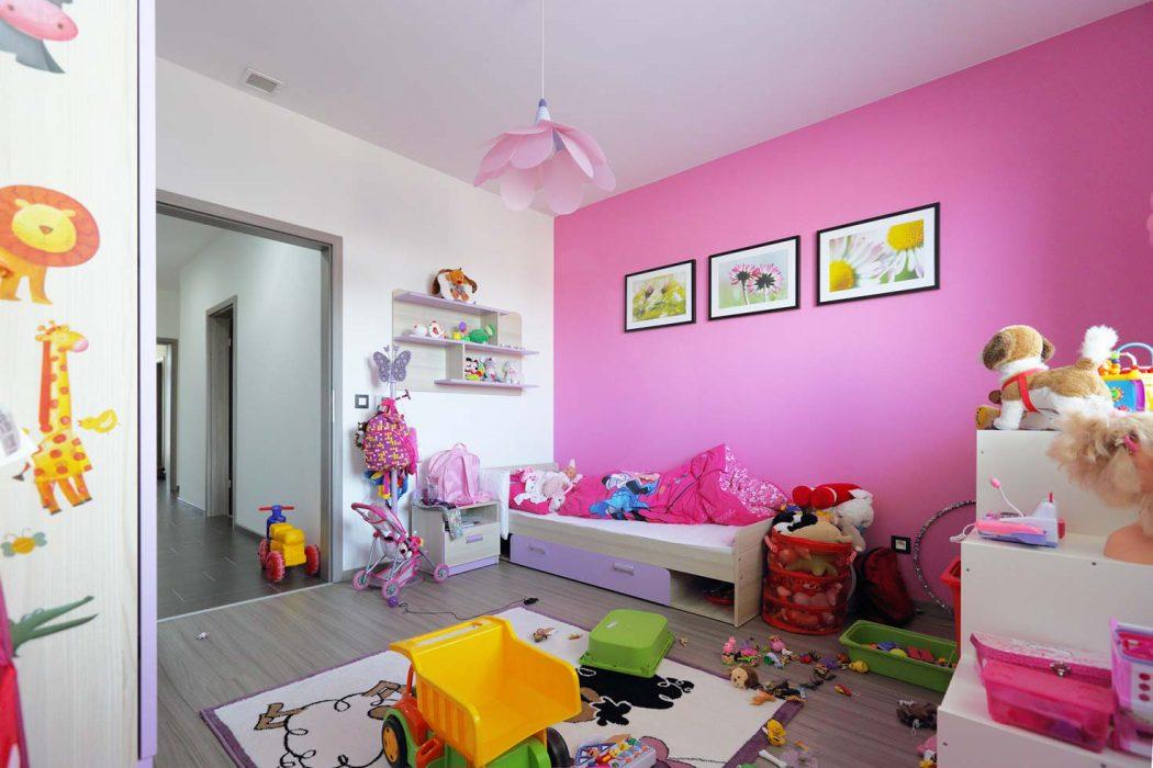 Dětské svítidlo v pokoji
