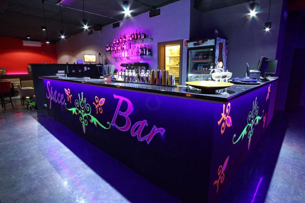 UV LED barové osvetlenie