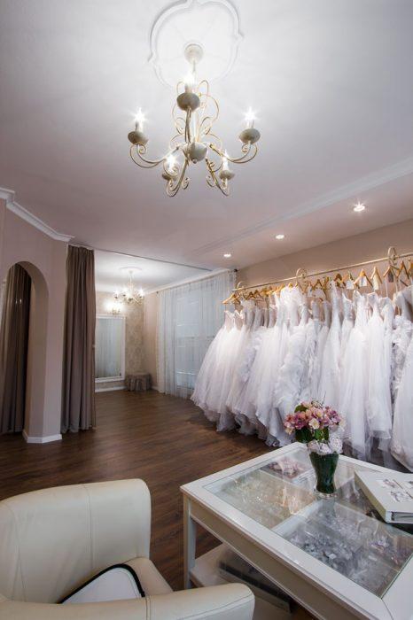 Elegant chandelier in a wedding style