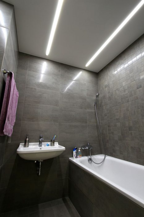 LED in the bathroom