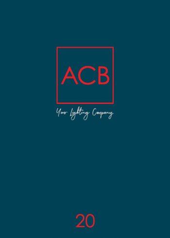 Katalóg svietidiel ACB iluminacion