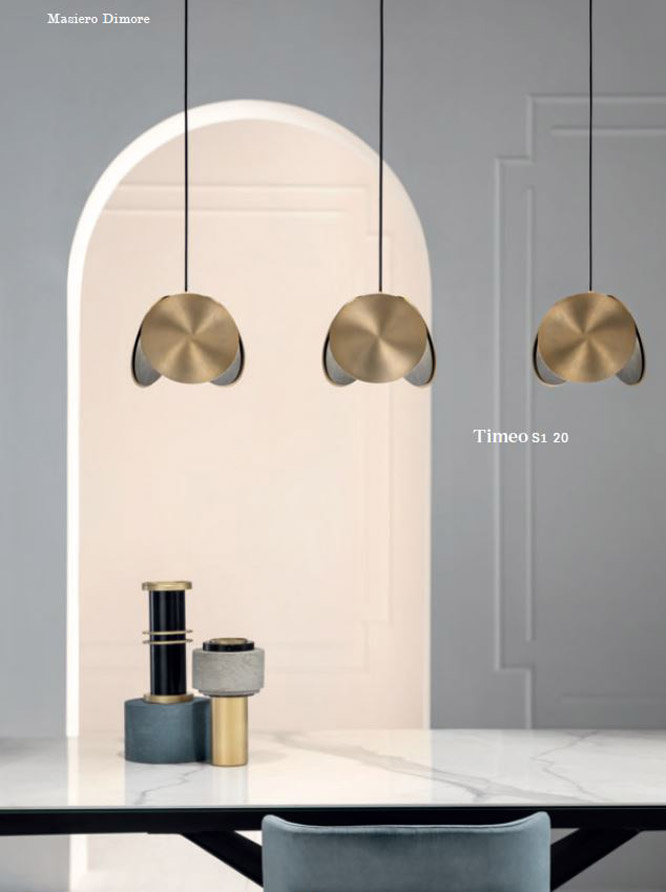 Catalog of luminaires and chandeliers MASIERO Dimore