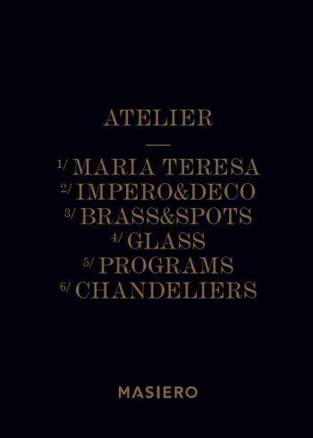 Katalog svítidel a lustrů MASIERO Atelier
