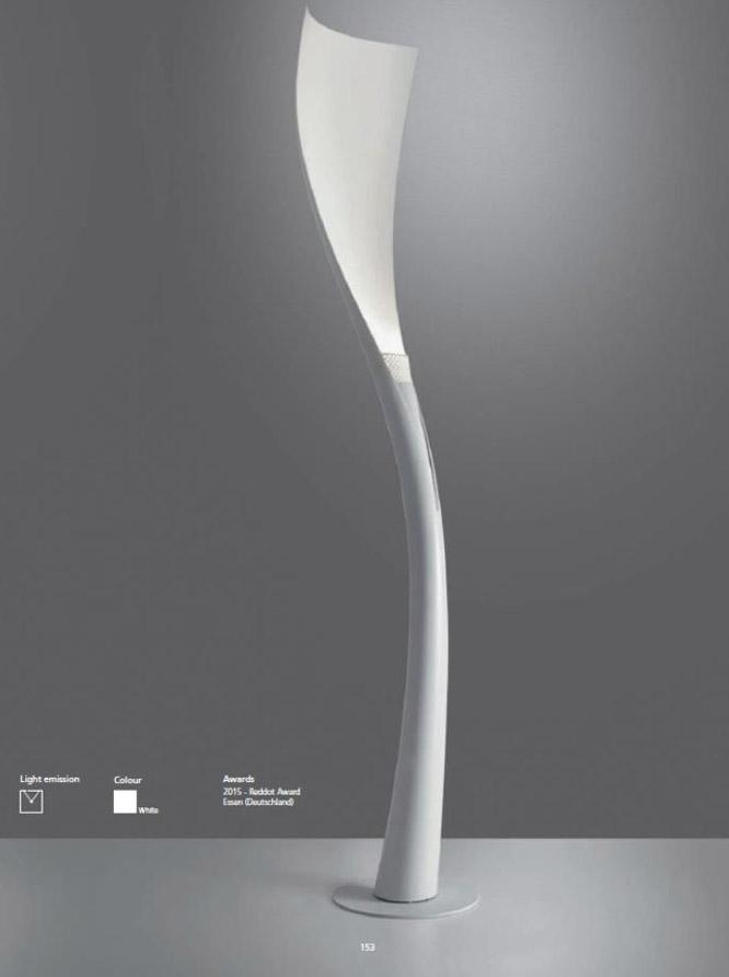 Catalog of design luminaires Artemide