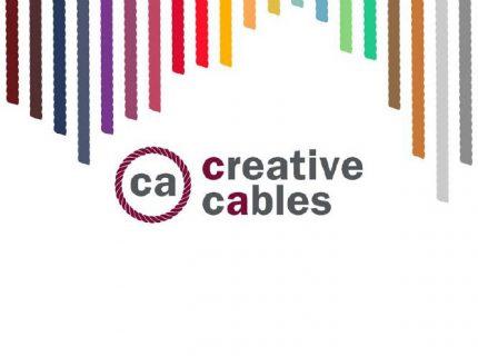 Katalog textilních kabelů a komponentů pro svítidla CREATIVE CABLES