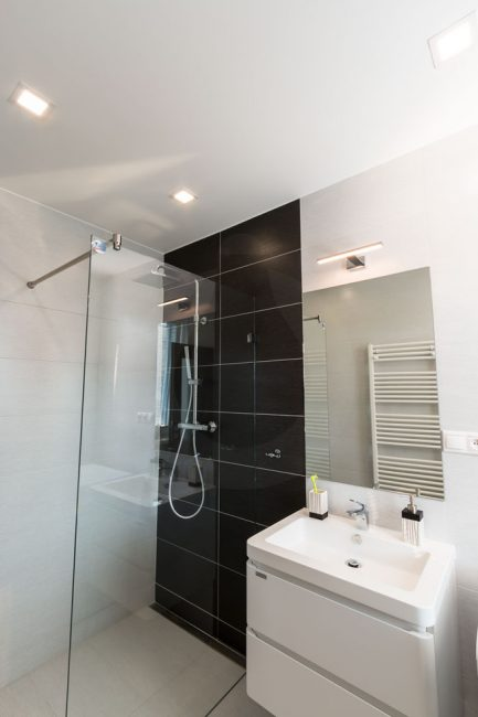 LED bathroom lighting, LED panels