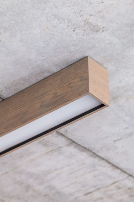 woodLED Linus, dřevěné LED svítidlo