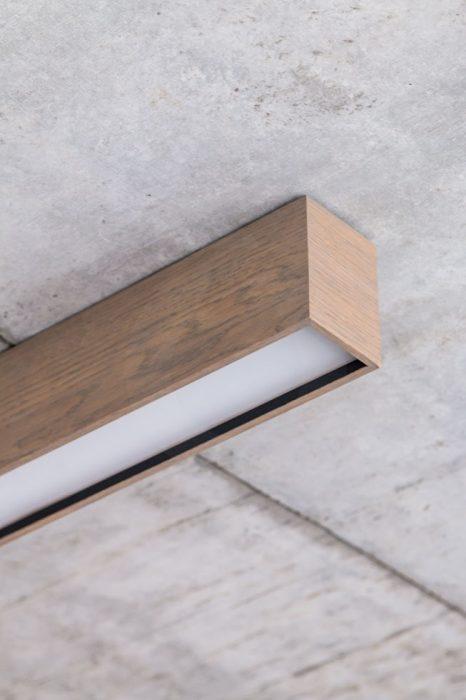 woodLED Linus, drevené LED svietidlo