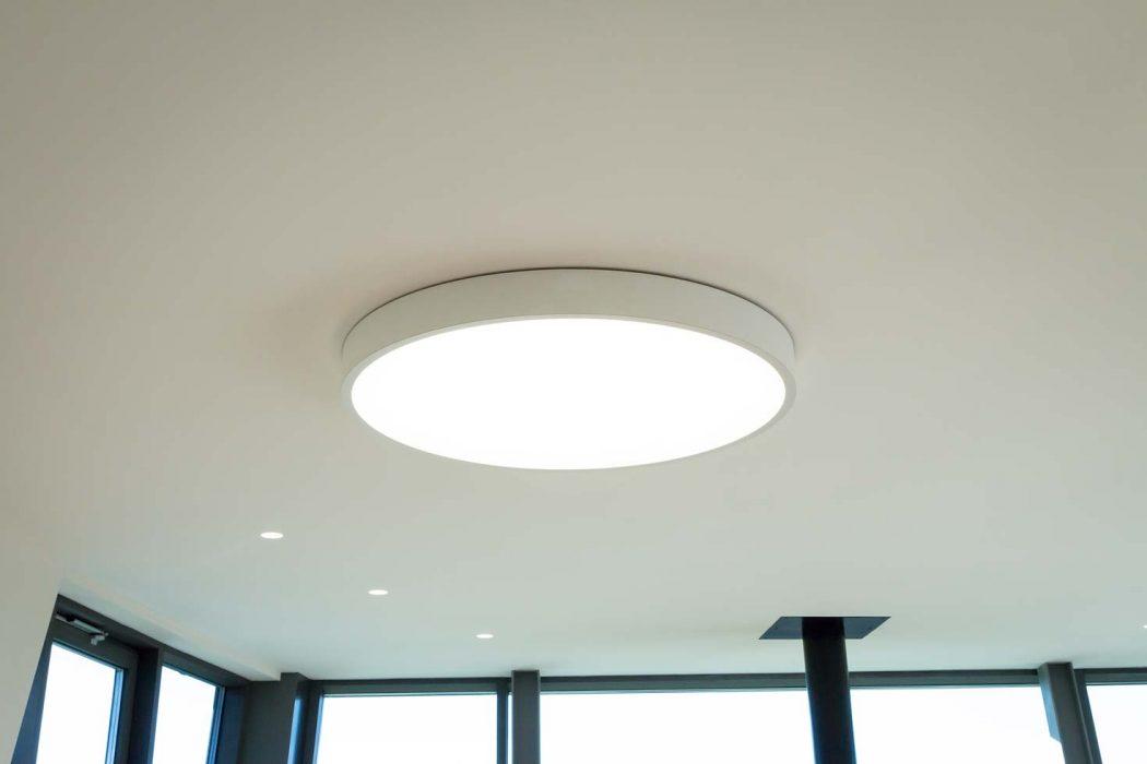 woodLED Round, Trilum, drevené svietidlo, LED v obývačke