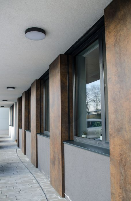 exterior LED ceiling light, exterior ceiling lamp