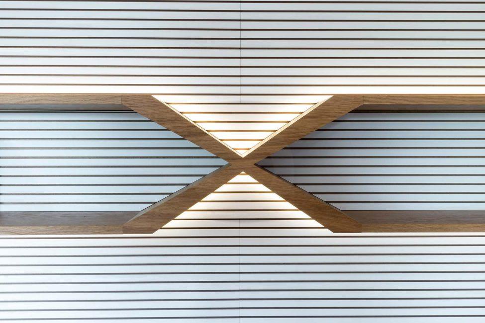LED podsvietenie knižnice