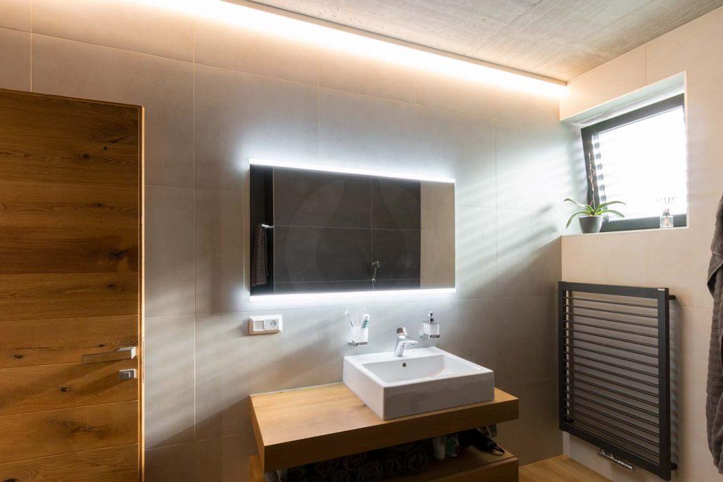 osvetlenie zrkadla, LED v kúpelni, Zrkadlo do kúpelne