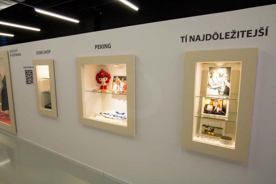 LED illumination of showcases