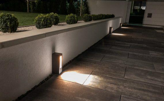 stĺpikové LED svietidlo, svietidlá na príjazdovú cestu