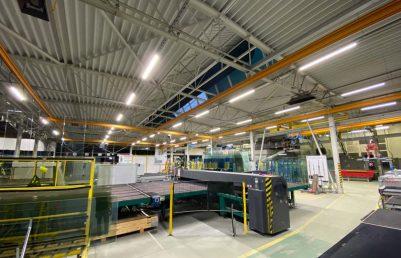 LED linear - priemyselné lineárne osvetlenie pre výrobné haly, obchody a sklady