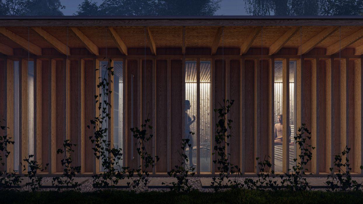 Návrh LED osvetlenia sauny