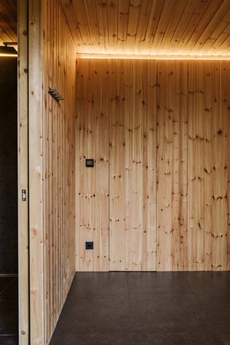 LED osvetlenie sauny