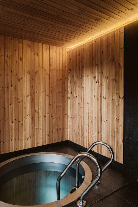 Ochladzovací bazén v saune